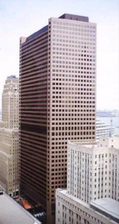 view of WTC 7 showing entire elevation